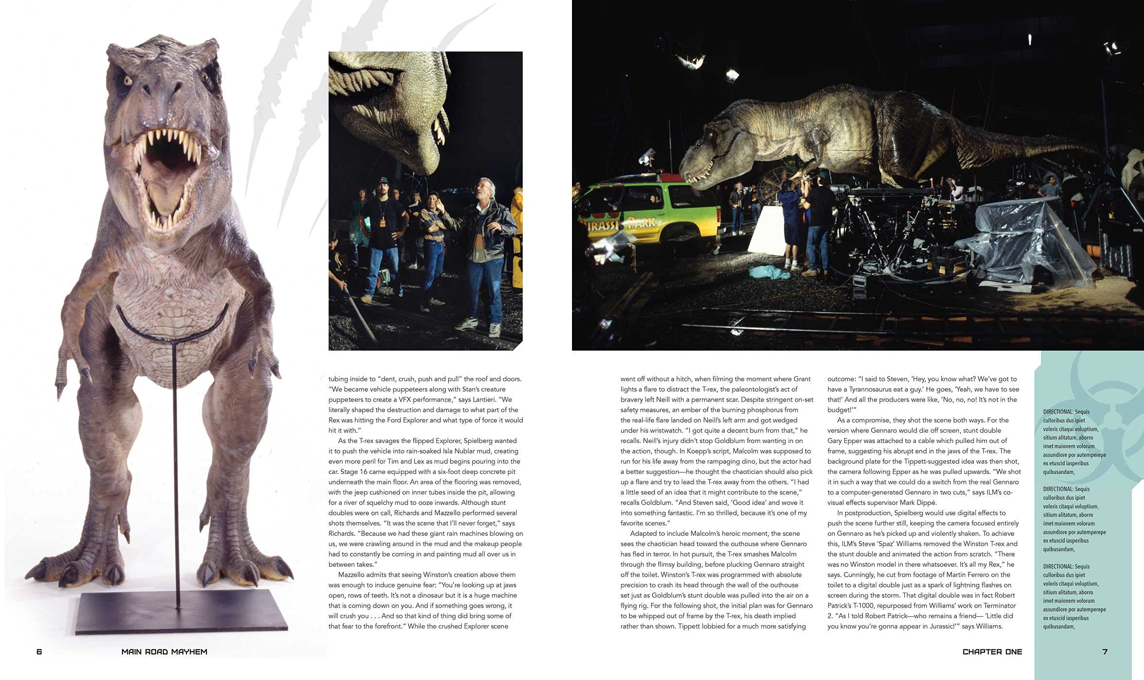 Jurassic Park: The Ultimate Visual History announced 81Jg1QayW4S