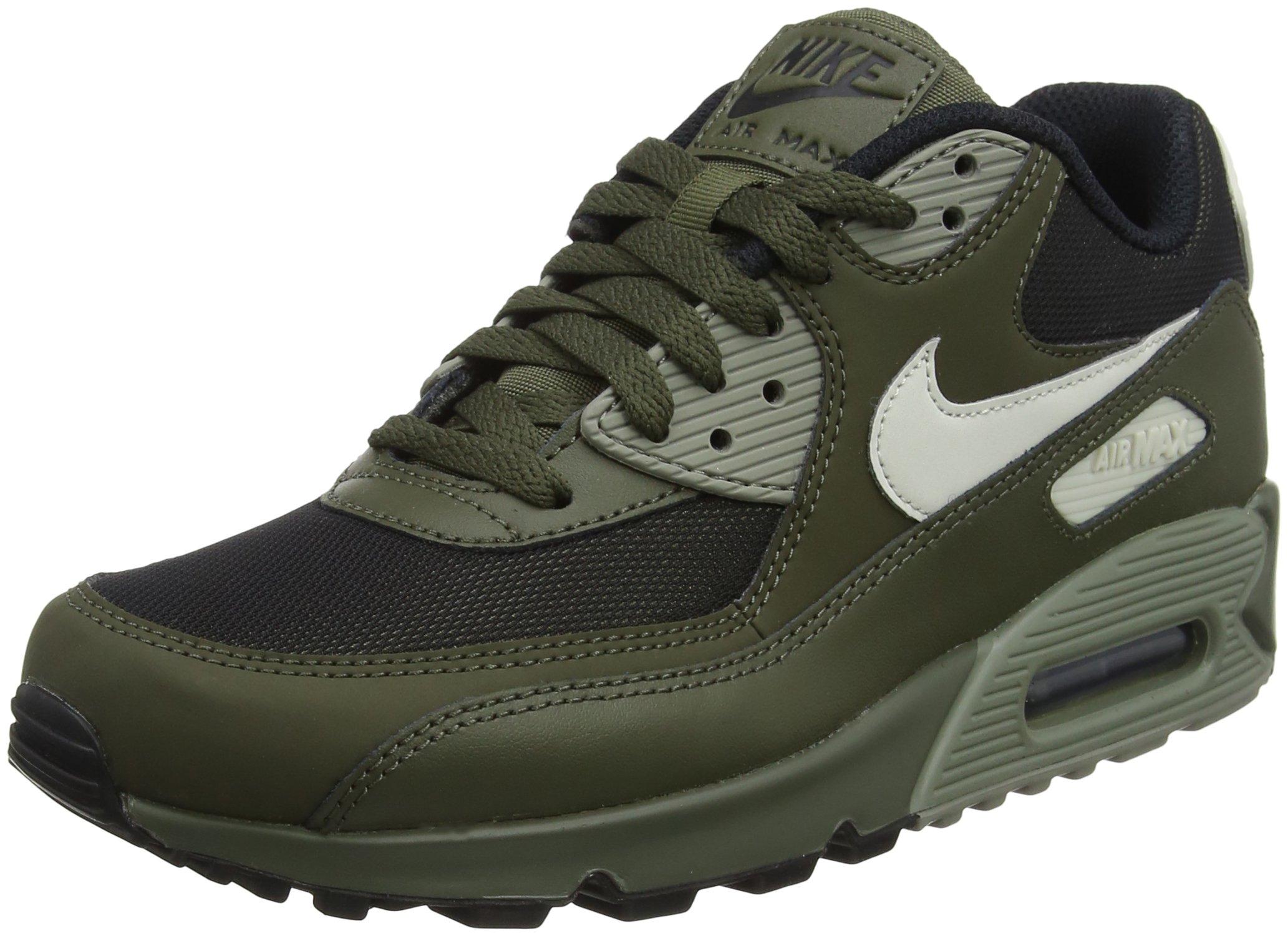 wholesale dealer 89a1a 4ad3f Galleon - NIKE Men s Air Max  90 Shoes Cargo Khaki Light Bone 8