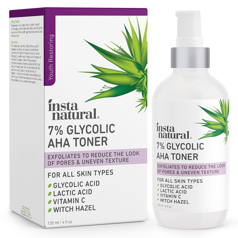 Insta Natural 7% Glycolic AHA Toner