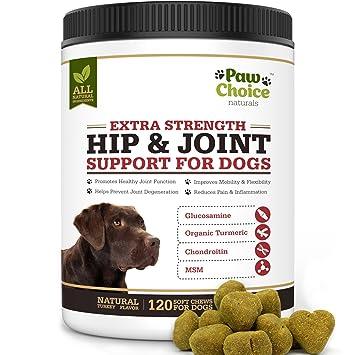 Amazon.com: Paw Choice - Mascotas de glucosamina para perro ...