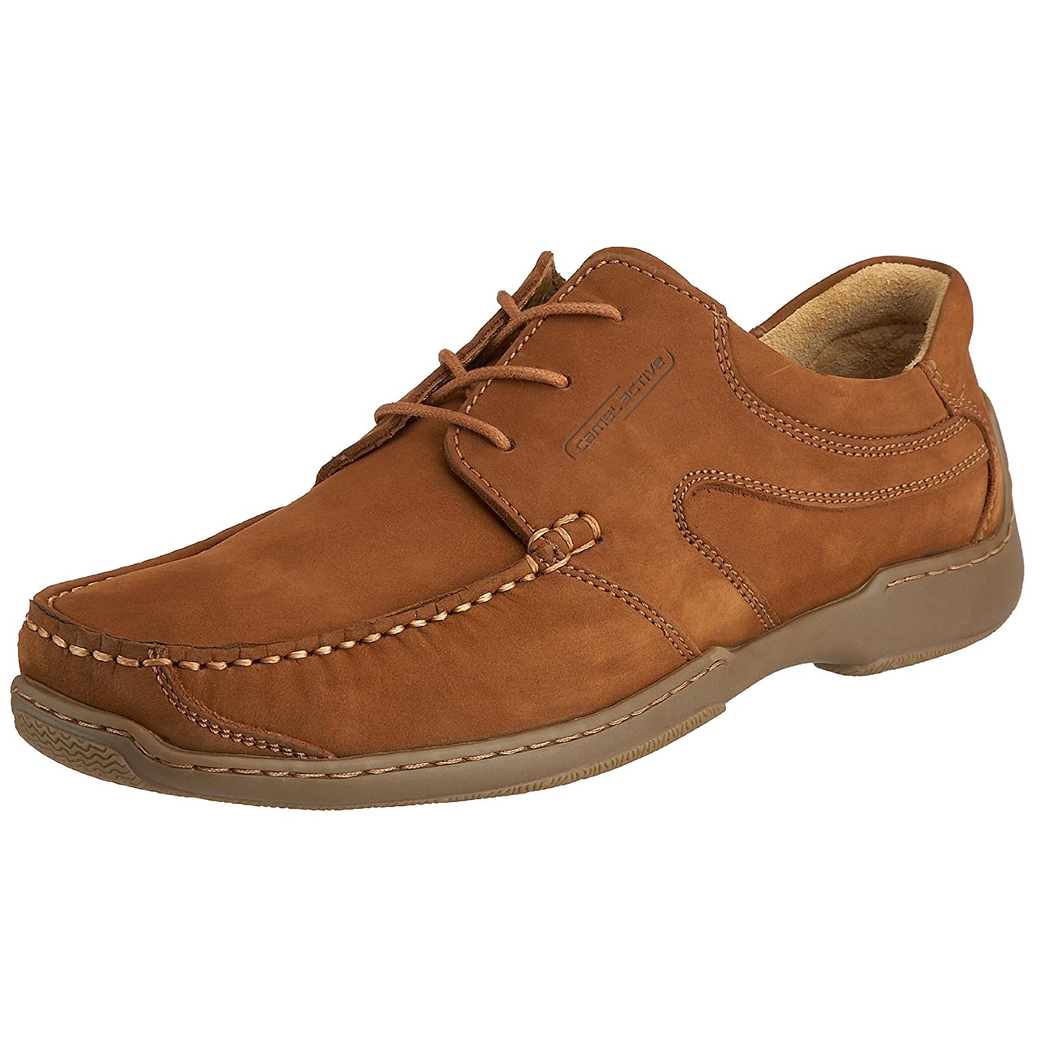 6113830a8e6f camel active Men's Madrid Mocasin Brandy Nubuck 171.11.01 8 UK ...