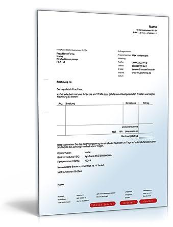 Rechnung Inland Pdf Download Download Amazonde Software