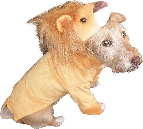 Disfraz de león FH03 Talla S para Perros, Disfraces de Carnaval ...