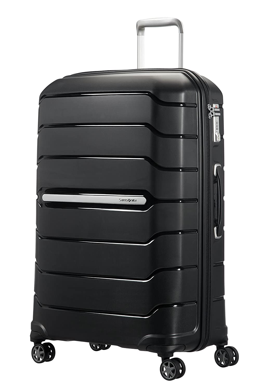 SAMSONITE Flux - Spinner 55/20 Expandable Bagage cabine, 55 cm, 44 liters, Noir (Noir) 88537/1041