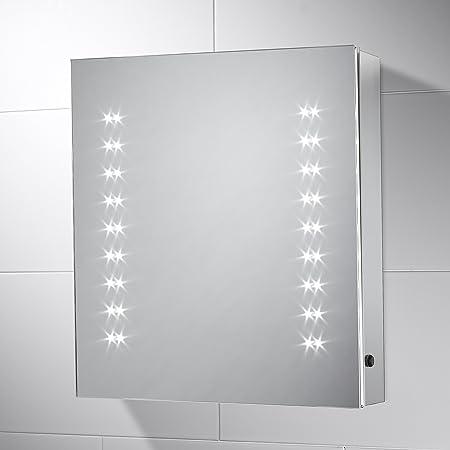 Bathroom mirror cabinet pebble grey amber bathroom cabinet mirror bathroom mirror cabinet pebble grey amber bathroom cabinet mirror with lights 450mmw aloadofball Images