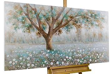 Kunstloft Tableau Peinture Sur Toile à Lhuile Murmure De Larbre