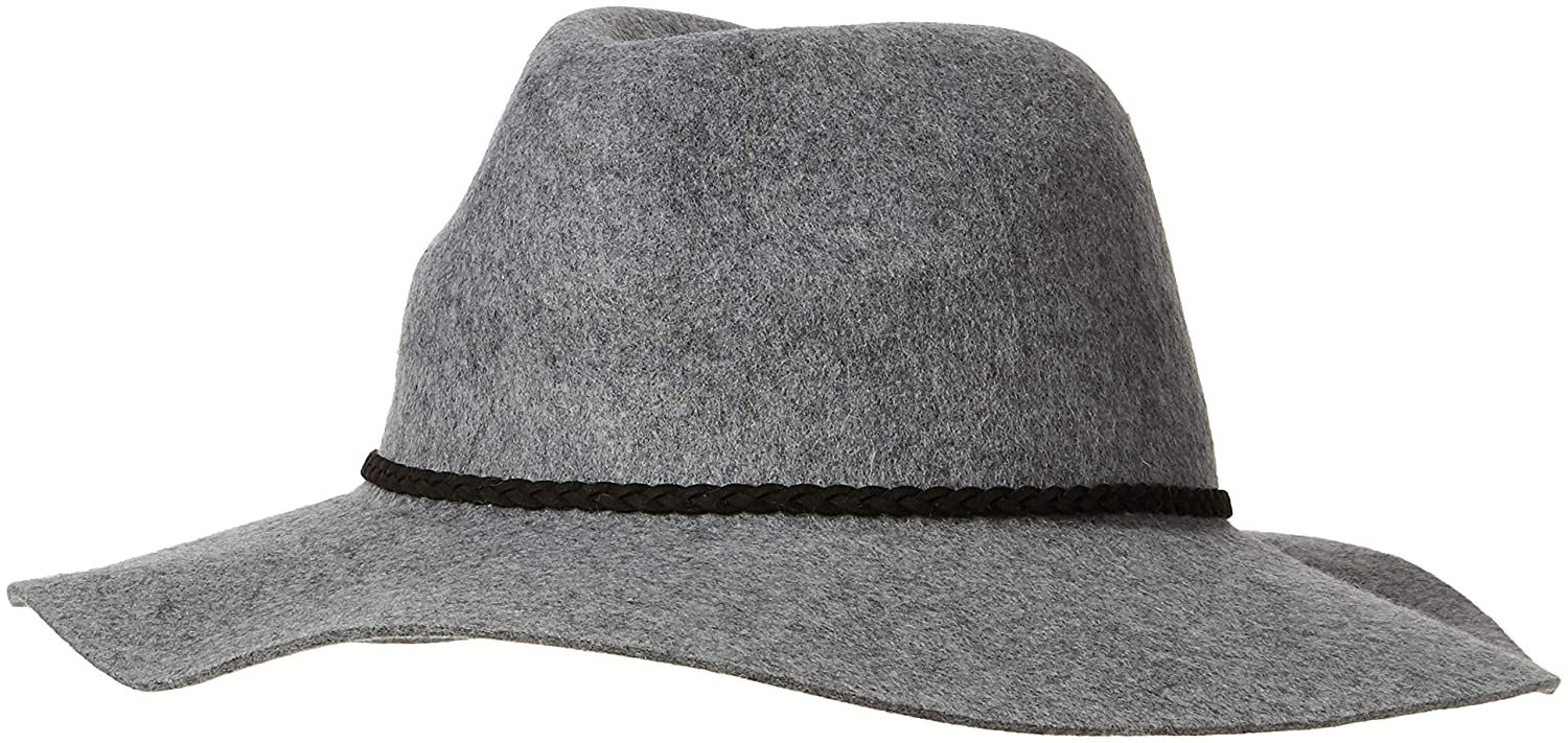 Fat Face Women's Sunhat (Grey Gry) (Size: One) WOOL FLOPPY