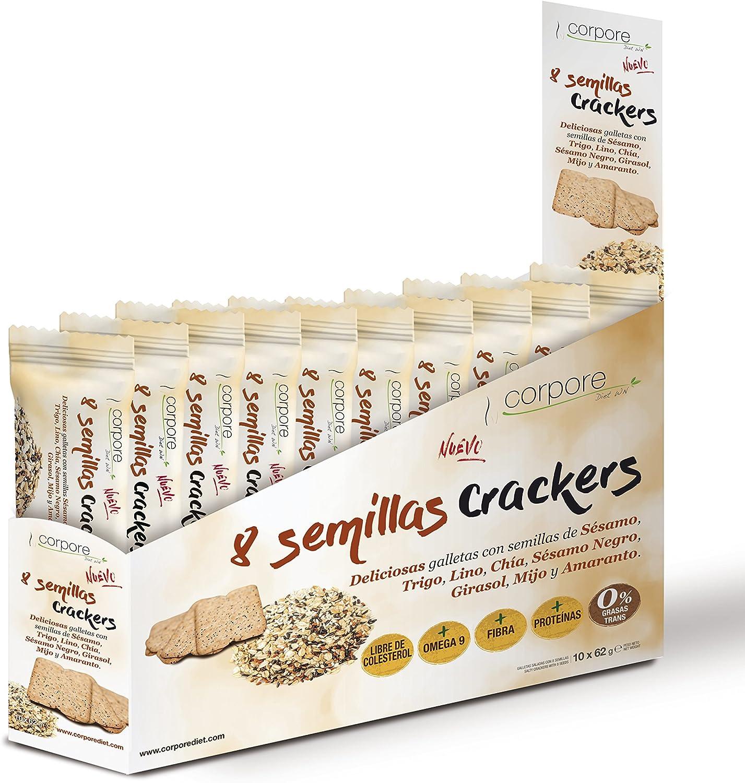 Corpore Diet Galletas Saladas Crackers - 10 Paquetes: Amazon.es ...