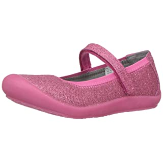 Hanna Andersson Ania Girl's Casual Mary Jane Flat, Cottage Pink, 2.5 M US Little Kid