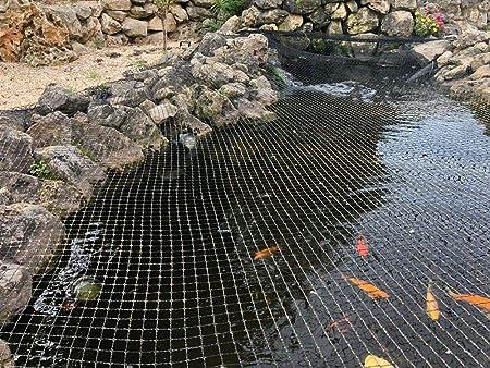 Teichnetz Teichschutznetz Größe 10 m x 25 m Masche 10 cm Fischreiher Kormoran