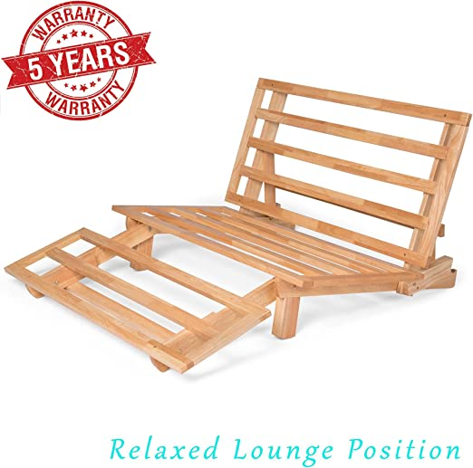 Amazon.com: Marco triple de madera de sofá cama ...