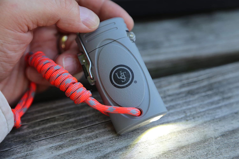 Système universel Tubeless Gray tekfire carburant gratuit briquet rechargeable USB Camping Randonnée 20-12425