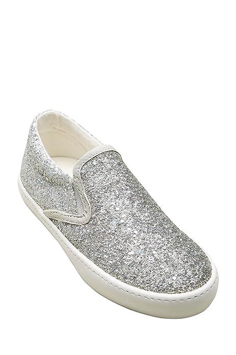 Next Niñas Zapatillas De Skate (Niña Mayor) EU 41 Brillo de Plata: Amazon.es: Zapatos y complementos