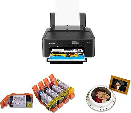 Alimentos Impresora DIN A4 Juego completo incluye 5 cartuchos de ...