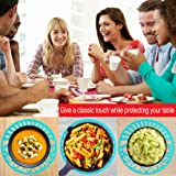 Silicone Trivet Set For Hot Dishes, Pots