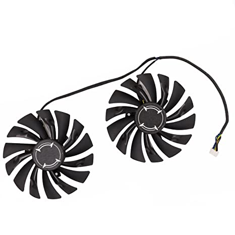 Amazon.com: Replacement Graphics Card Cooling Fan for MSI GTX 1080 GTX 1070 GTX 1060 RX 580 RX570 Armor Video Card Cooler Fan DC 12V 0.4A 4Pin: Computers & ...