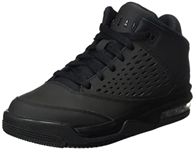 0434323ae85 Jordan Kids Flight Origin 4 (GS) Black Black Size 4.5