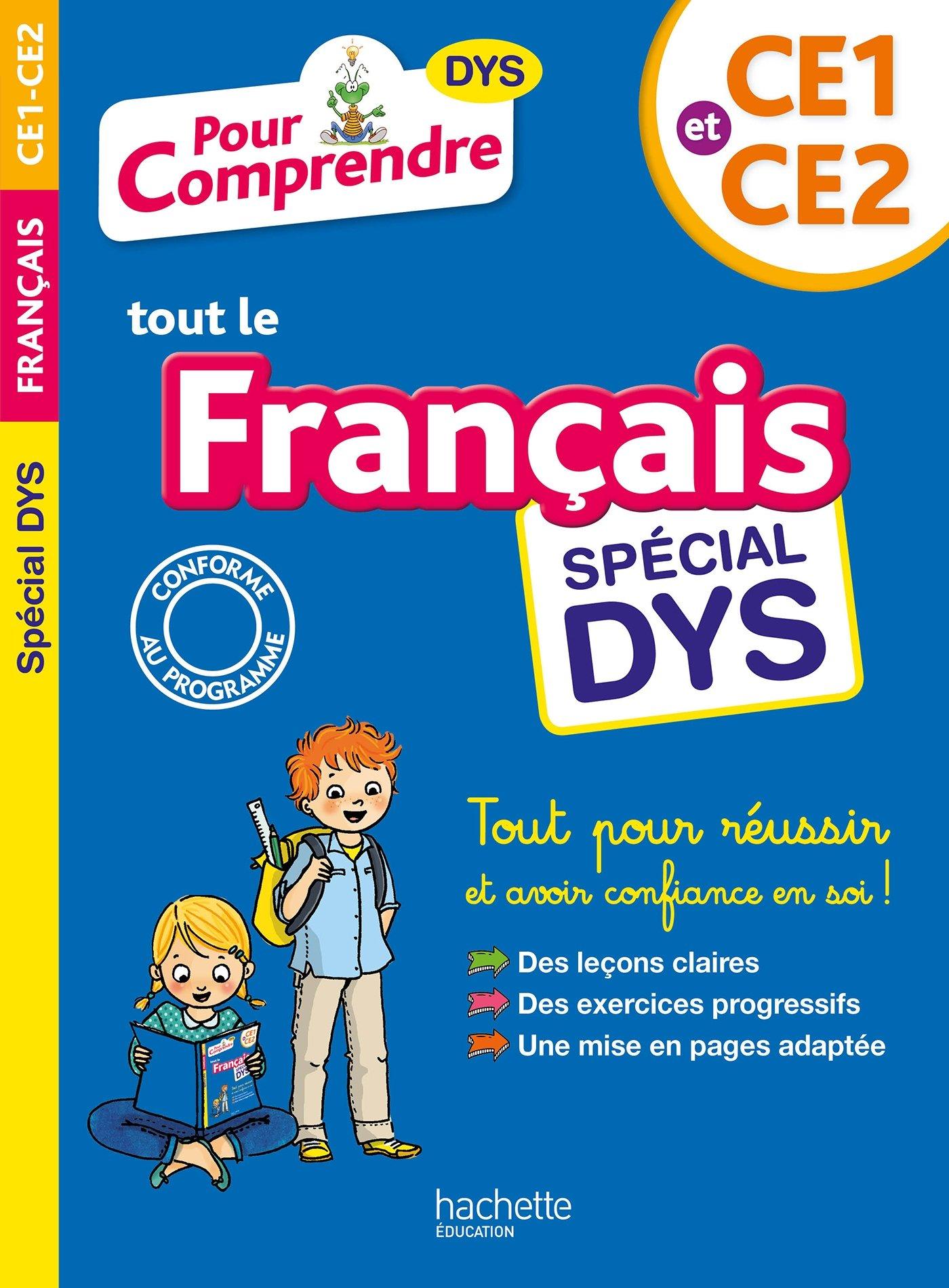 Pour Comprendre Français CE1-CE2 - Spécial DYS Les cahiers de la collection