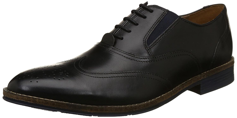 Hush Puppies Men's Bronson Elastic Derb Formal Shoes - Size 7 & 9