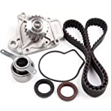 SCITOO Engine Timing Part Belt Set Timing Belt Kits, fit Honda Civic DEL SOL Si