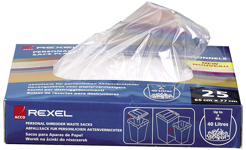 Rexel 40060 - Pack de 100 bolsas de plástico para ...