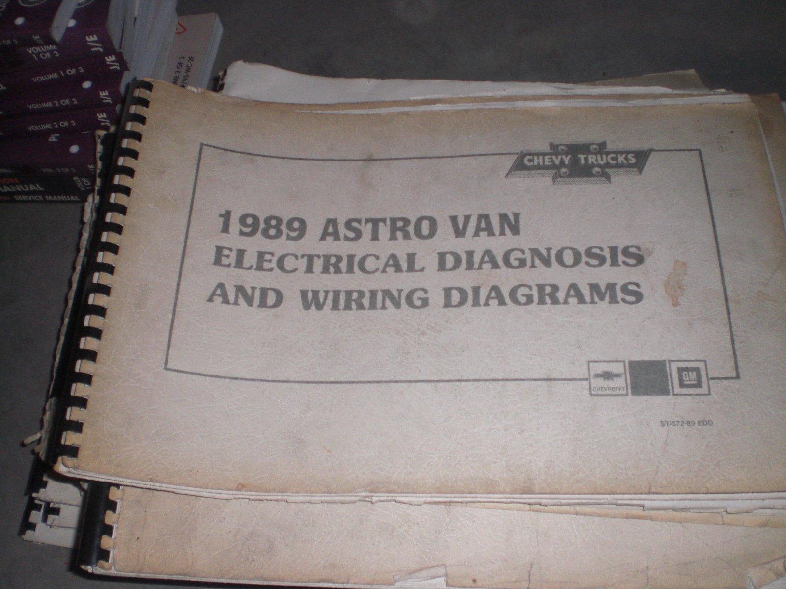 1989 chevy van wiring diagram 1989 chevrolet trucks astro van   electrical diagnosis and wiring  1989 chevrolet trucks astro van