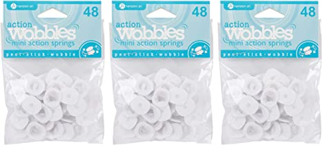 Hampton Art AWSM048 Action Mini Wobble Spring 48//Pkg,