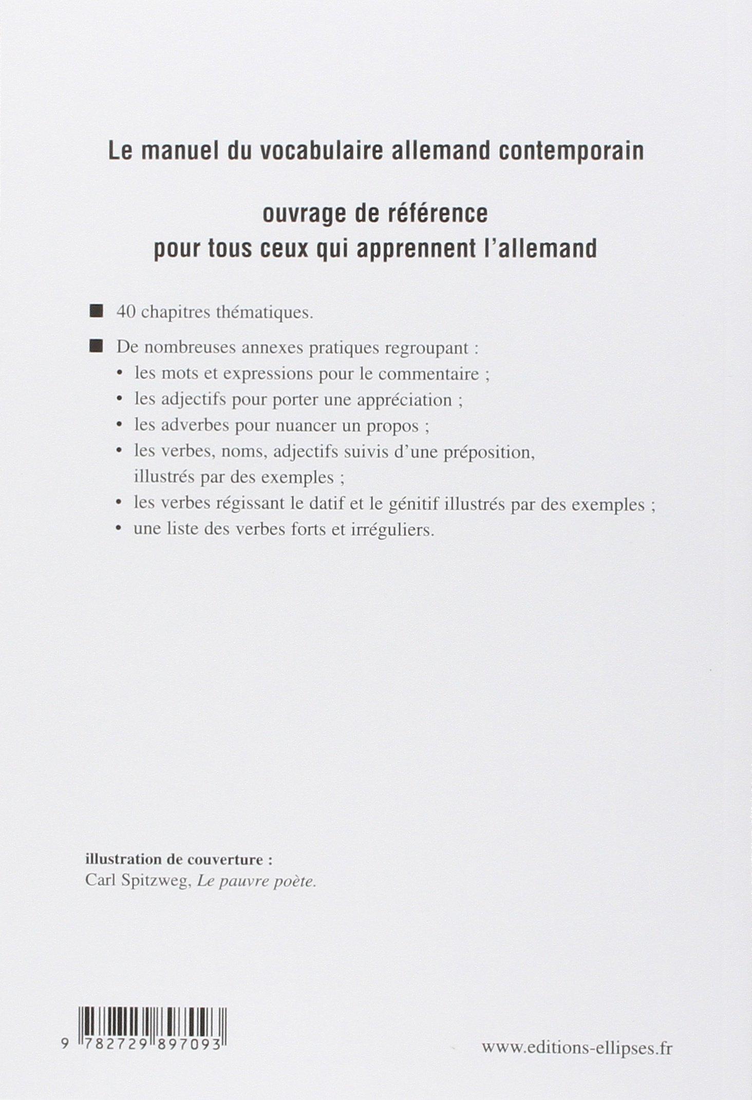 Du Mot A La Phrase Vocabulaire Allemand Contemporain Ɯ¬ ɀšè²© Amazon