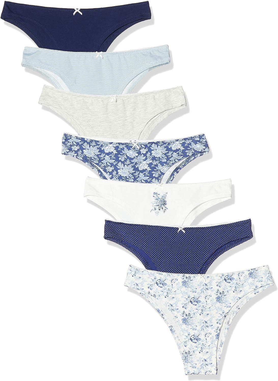 Womens Secret Packs 1 Blue Toile Braguita brasileña, Gris (Marengo 90), (Tamaño del Fabricante: L) para Mujer: Amazon.es: Ropa y accesorios