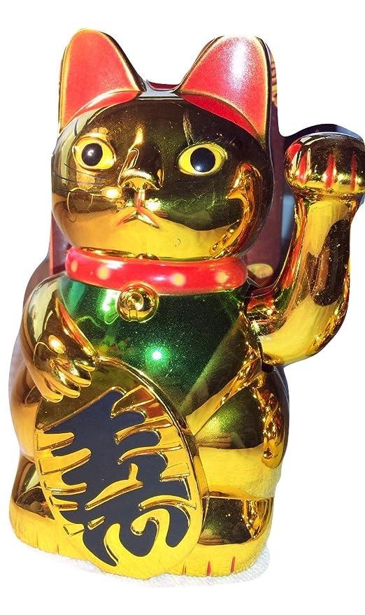 12 color dorado Gatos de la suerte chinas nuevo Wholesale 15 ...