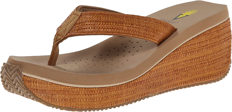 Volatile Womens Bahama Wedge Sandal
