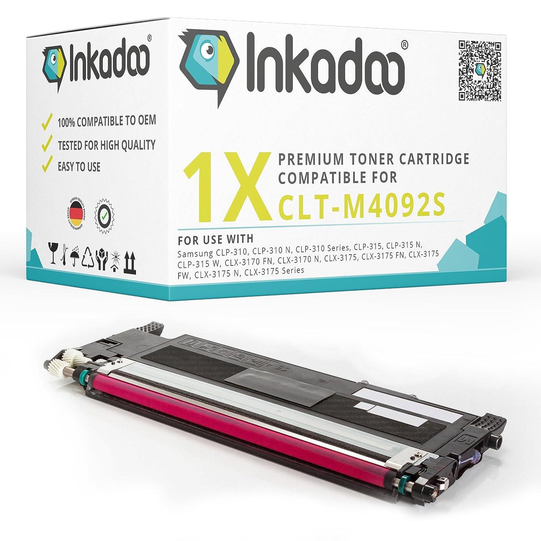 Inkadoo® Cartuchos de tóner Remanufacturado Samsung CLX-3175 N ...