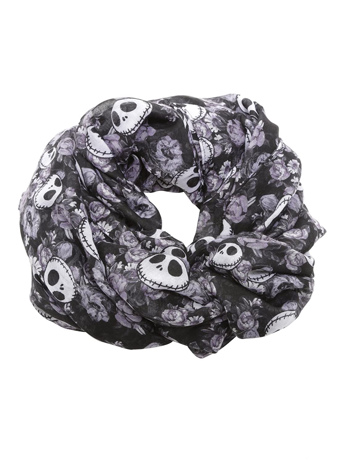 Disney The Nightmare Before Christmas Jack Floral Allover Scarf at ...