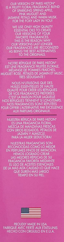 Amazon.com : Parfums Belcam Foxy Version of Paris Hilton Eau De Parfum Spray, 1.7 Fluid Ounce : Eau De Parfums : Beauty