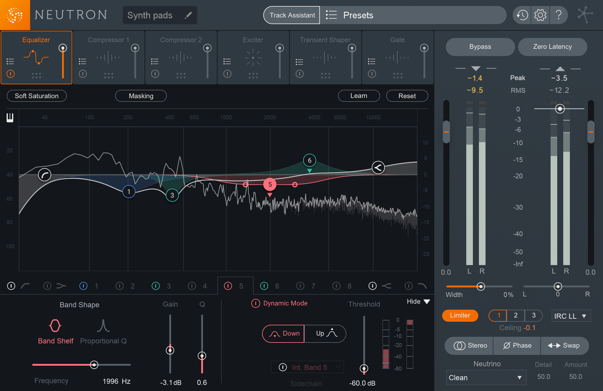 Neutron 2 Standard: Audio Mixing