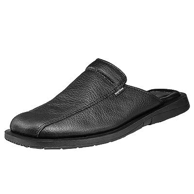Amazon.com | Handmade Genuine Leather Closed Toe Dress Leather Sandals for Men Slip On | Sandals