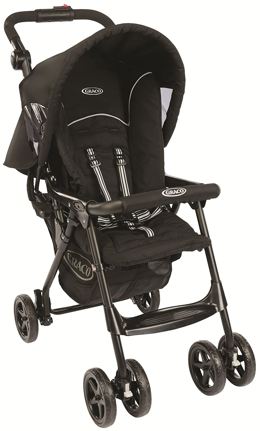 Graco CitiSport Lite Pushchair, Sport Luxe - Black 1897322