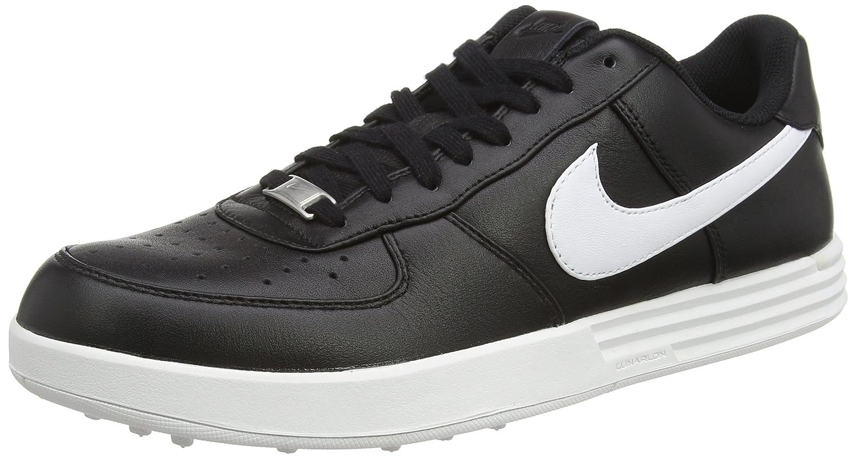 38fb5c1f6887c Amazon.com   Nike Lunar Force 1 Golf Shoes 2017 Black White Medium 10.5    Sports   Outdoors