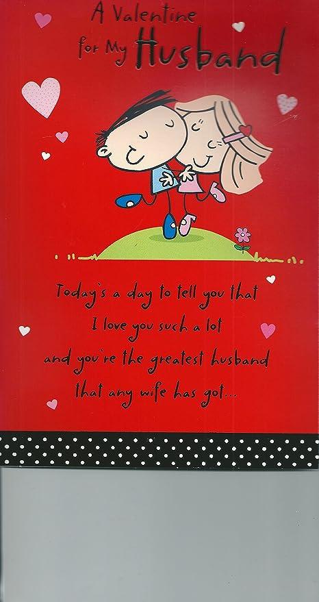 À mon mari saint valentin carte