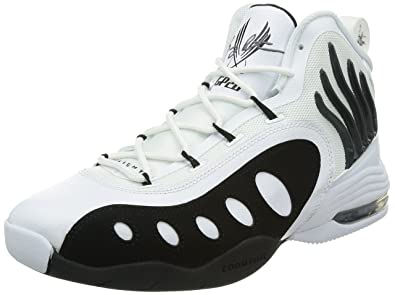 official photos 26f69 d3e7c NIKE Sonic Flight Mens Basketball Shoes 641333-100 White 8.5 M US