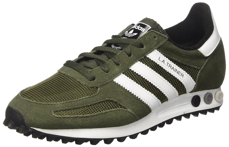 adidas la Trainer Men, Sneaker a Collo Basso Unisex-Adulto Verde (Nigh/Whi)