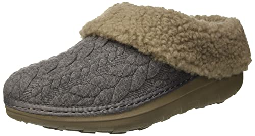 09f2dde6a18c3 Fitflop Women s Loaff Quilted Slippers Open Back  Amazon.co.uk ...