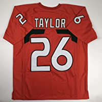 $49 » Unsigned Sean Taylor Miami Orange Custom Stitched College Football Jersey Size Men's XL New No Brands/Logos