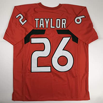 factory price c058b 62136 Unsigned Sean Taylor Miami Orange Custom Stitched College Football Jersey  Size Men's XL New No Brands/Logos