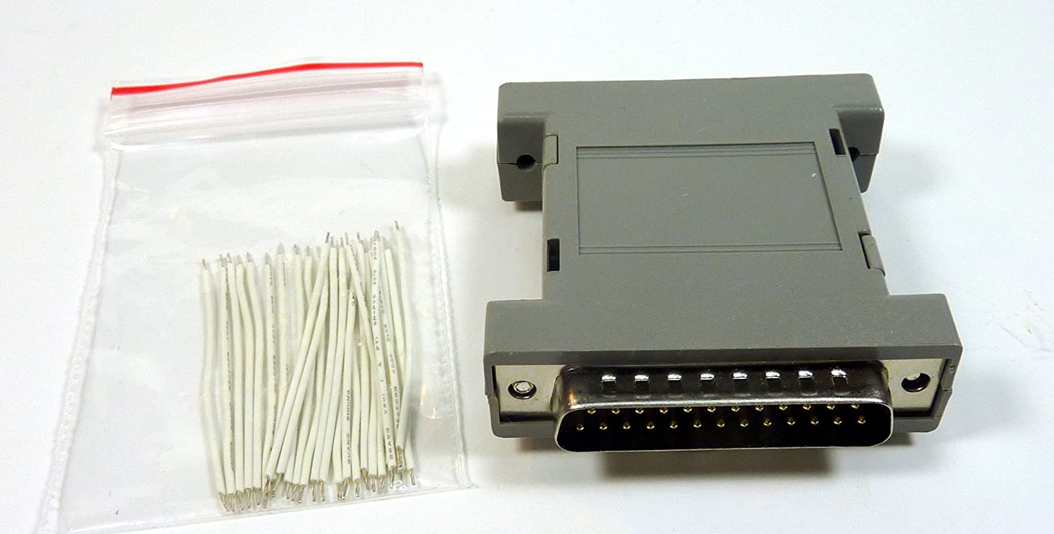 No Soldering Philmore Wiring Adaptor Breakout Box For PC DB25 Connector