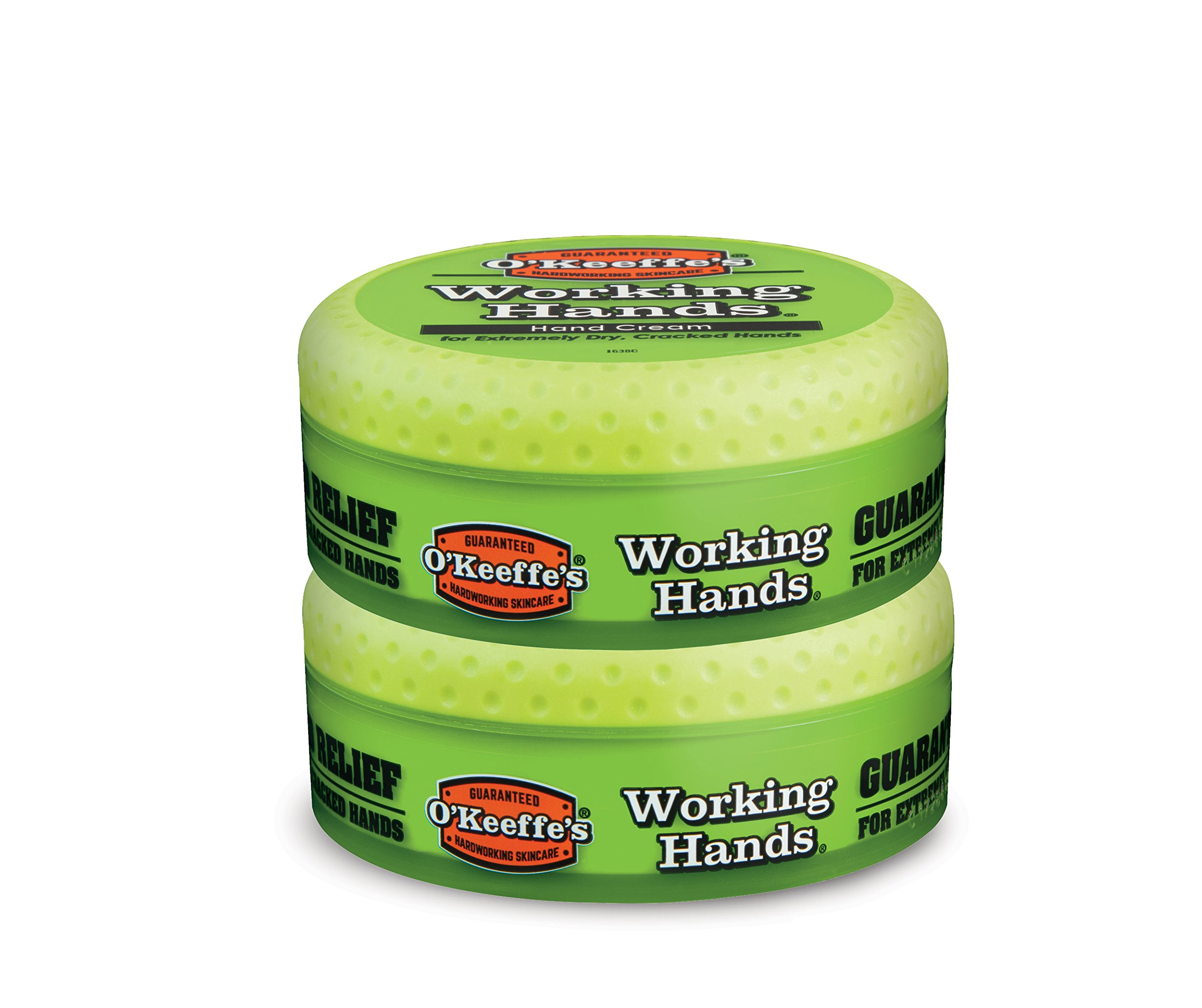 O'Keeffe's Working Hands Hand Cream, 3.4 ounce Jar, (Pack of 2) by O'Keeffe's