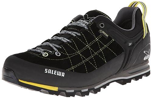 SALEWA Mtn Trainer Gtx-Pelle, Scarpe da trekking Uomo, Nero (Black/