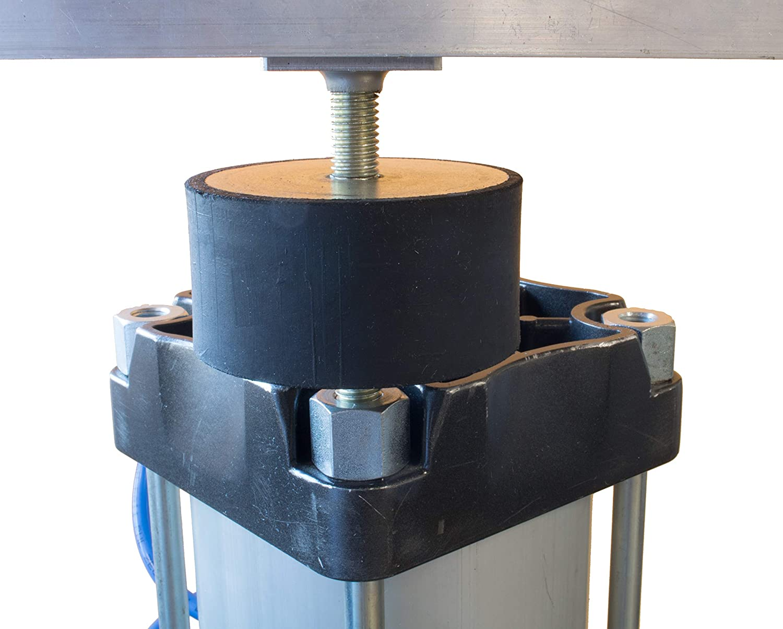 4 St/ück Vibrationsd/ämpfer Gummipuffer Silentblock gegen Vibration bei Klimaanlage Auto Boot Spulen Gummilager sind ideal geeignet und sehr langlebig
