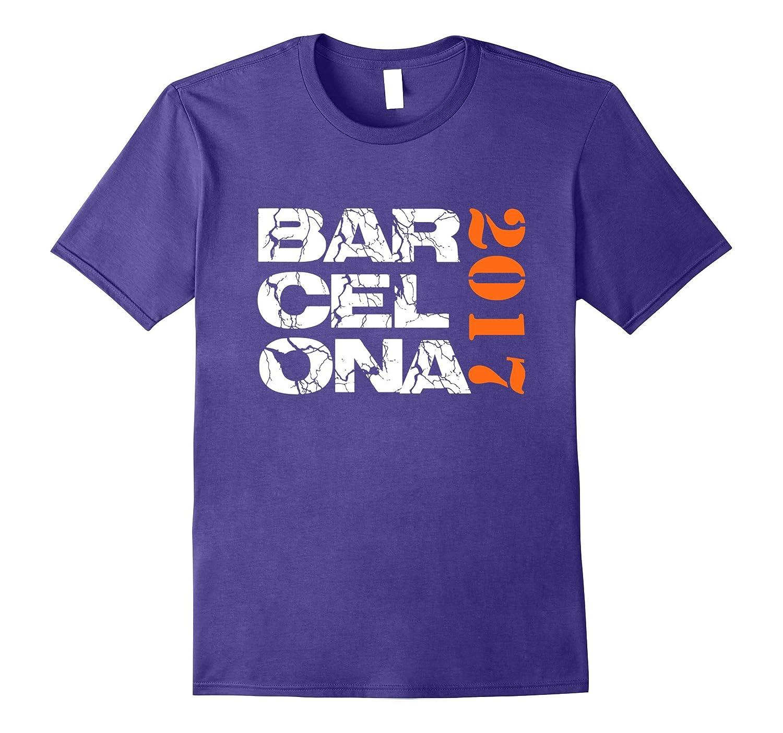 Barcelona Tee Shirt Spain Soccer Jersey 2017- TPT