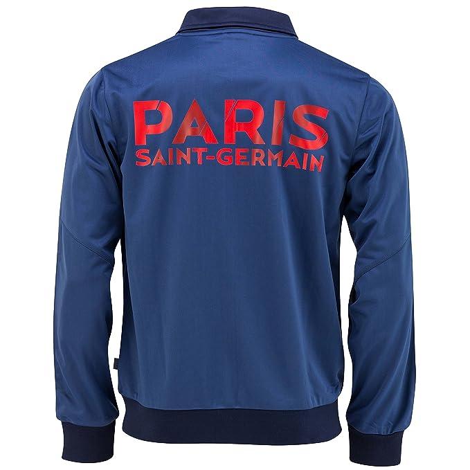 Paris Saint Germain - Chaqueta y pantalones de chándal oficiales para niño azul azul Talla:6 años: Amazon.es: Zapatos y complementos